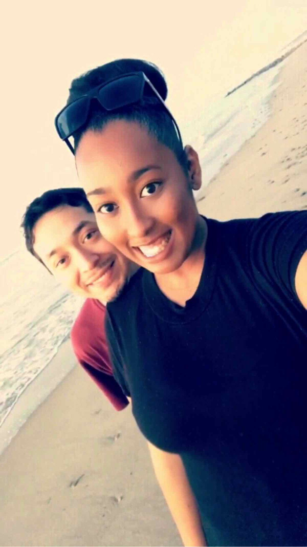 Alexis Augmon and Brian Molina